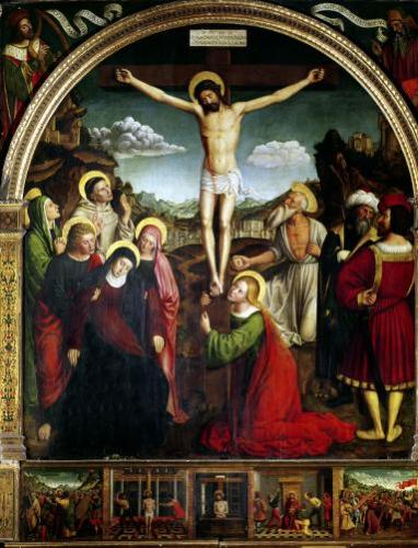 Crucifixion by Ludovico Brea