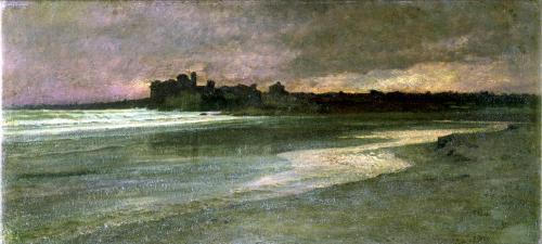 Nettuno Evening on the Beach by Antoine Auguste Ernest Herbert