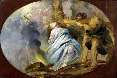 The Martyrdom of St. Lucy c.1620 by Peter Paul Rubens