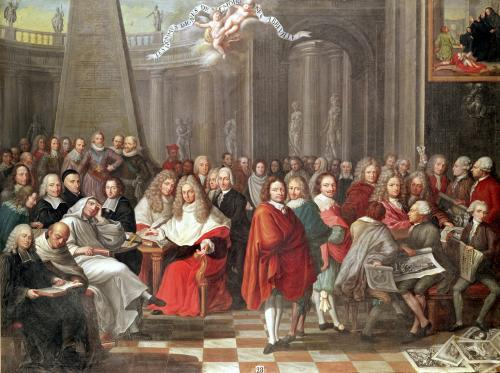 Group of Distinguished Gentlemen Born in or Around Abbeville by Pierre Adrien Choquet