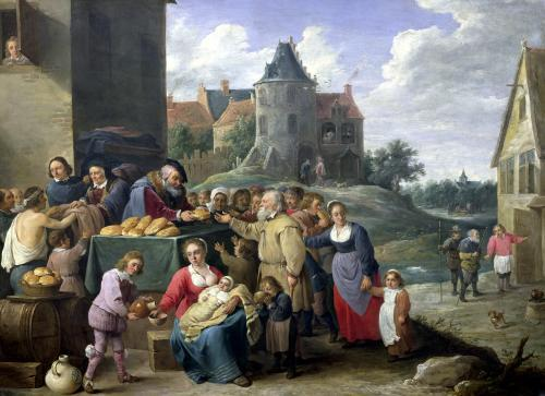 The Seven Acts of Mercy by David Teniers the Younger