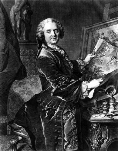 Jean Baptiste Masse by Louis Tocque