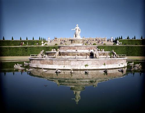 Tha Fountain of Latona by Balthazar Marsy