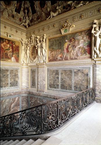 Former chamber of Anne de Pisseleu Duchesse d'Etampes by Francesco Primaticcio