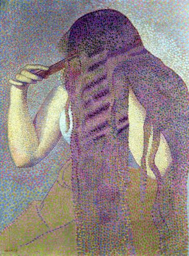 The Hair c.1892 by Henri-Edmond Cross