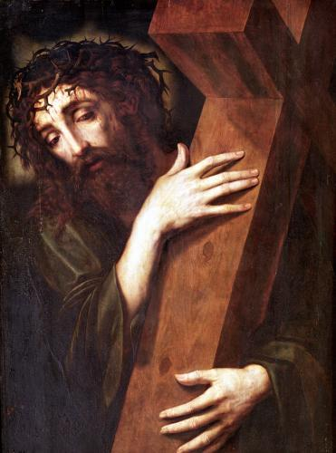 Christ Carrying the Cross by Spanish School