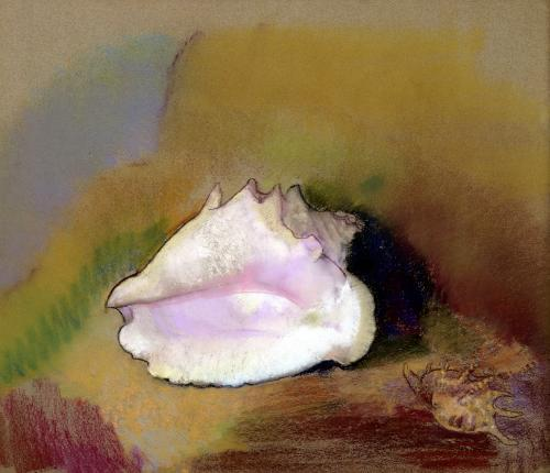 The Shell 1912 by Odilon Redon
