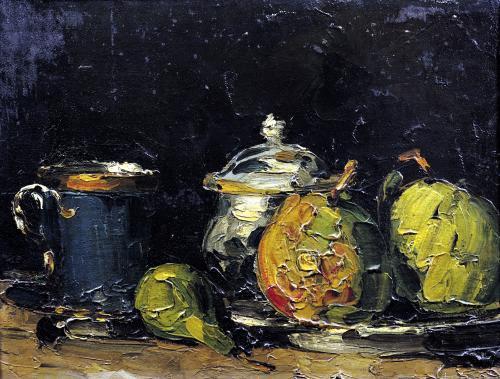 Still Life c.1865 by Paul Cezanne