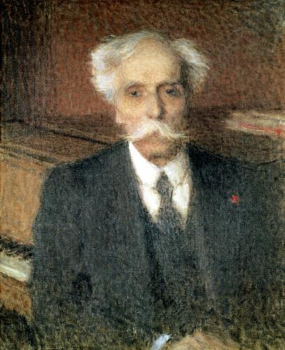 Gabriel Faure by Ernest-Joseph Laurent