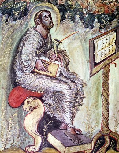 St. Luke by French School