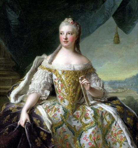 Dauphine Marie-Josephe de Saxe 1751 by Jean-Marc Nattier