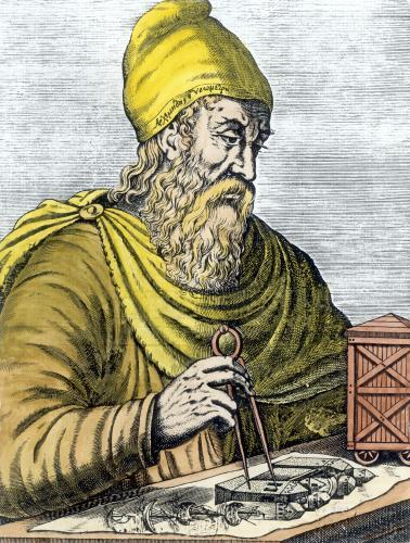 Archimedes by French School