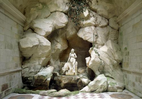 The Grotto of the Laiterie de la Reine by Jean Thevenin