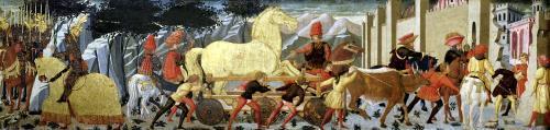 The Trojan Horse by Italian School