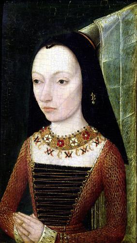 Margaret of York Duchess of Burgundy c.1477 by Netherlandish School