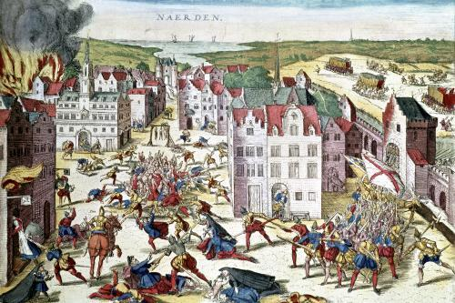 Massacre in Flanders during the Government of Fernando Alvarez de Toledo by Franz Hogenberg