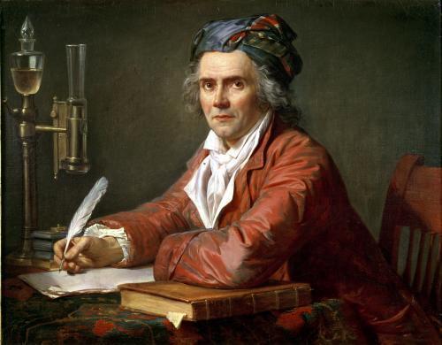 Portrait of Alphonse Leroy 1783 by Jacques-Louis David