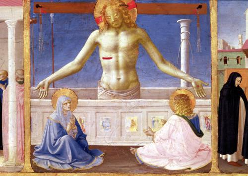 Christ Rising from his Tomb c.1430 by Attributed to Fra Angelico