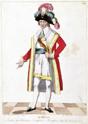 Paul Francois Jean Nicolas Vicomte de Barras by French School