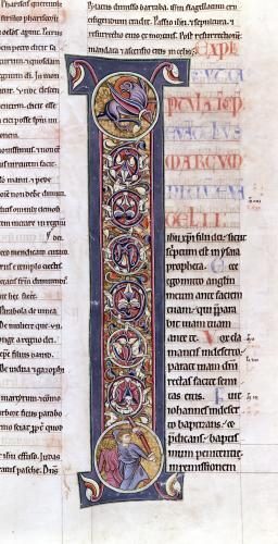 The Gospel of St. Mark Bible of the Monastery of Saint-Andre aux-Bois by French School