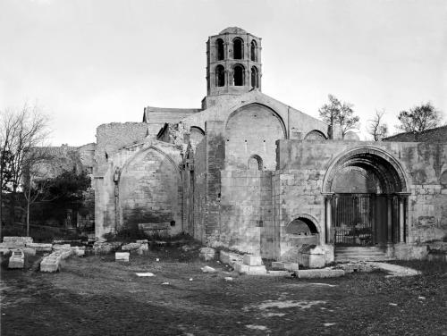 Church of Saint-Honoratus at Les Alyscamps by Romanesque