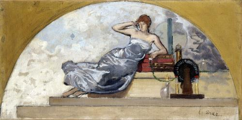 Physics 1889 by Ernest Ange Duez