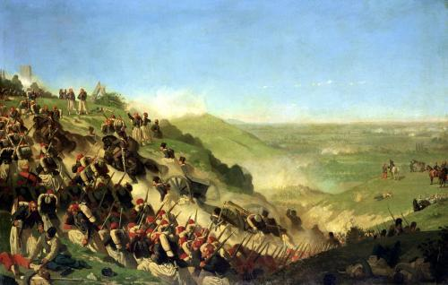 The Battle of Solferino 1859 by Paul Alexandre Protais