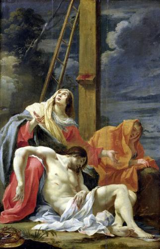The Lamentation of Christ by Aubin Vouet