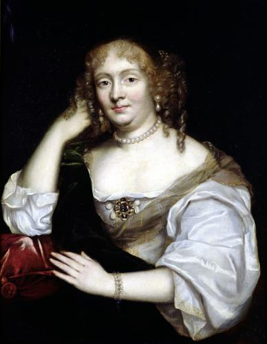 Portrait of Marie de Rabutin-Chantal Marquise de Sevigne by French School