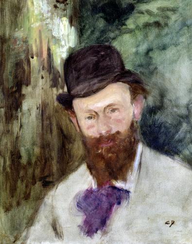 Portrait of Edouard Manet c.1880 by Charles Emile Auguste Carolus-Duran