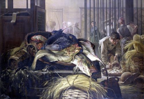 The Fish Market by Dominique Henri Guifard