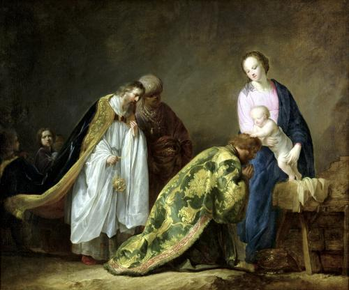 The Adoration of the Magi 1638 by Pieter Fransz Grebber