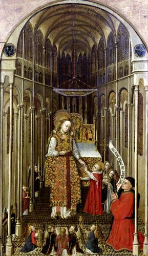 The Calling of the Virgin by French School