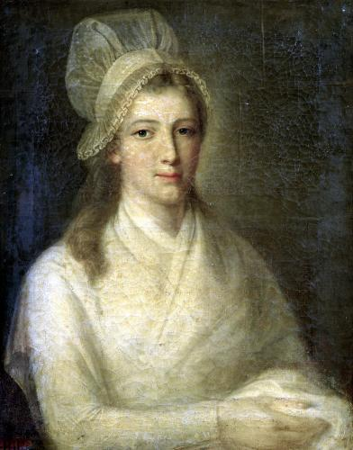 Charlotte Corday by Jean-Jacques Hauer