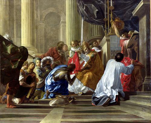 Raymond IV de Saint-Gilles Taking the Cross 1706 by Antoine Rivalz