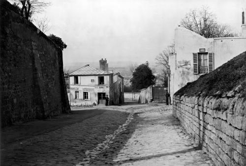 Rue des Saules Paris 1858 by Charles Marville
