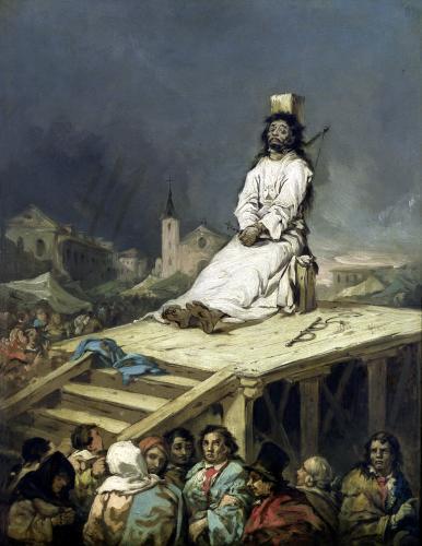 The Garrotte by Eugenio Lucas y Padilla