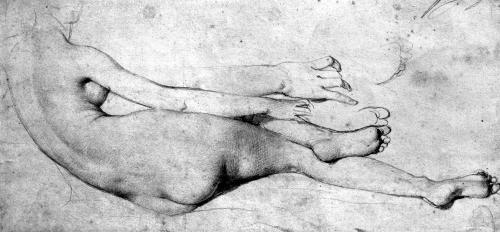Study for The Grande Odalisque by Jean-Auguste-Dominique Ingres