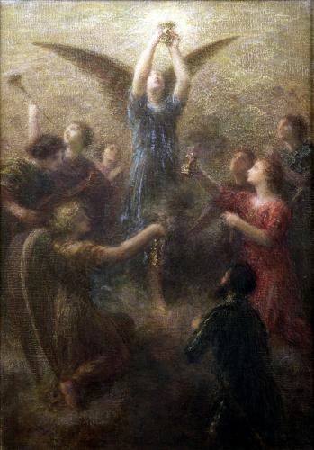 Lohengrin by Ignace-Henri-Théodore Fantin-Latour