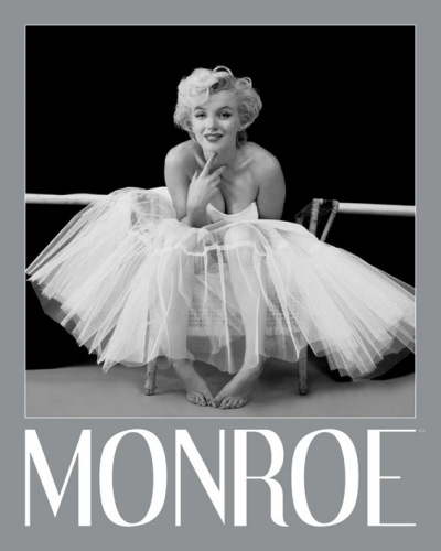 Marilyn Monroe (Ballerina - Silver Ink Border) by Anonymous