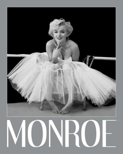 Marilyn Monroe (Ballerina - Silver Ink Border) by Mini