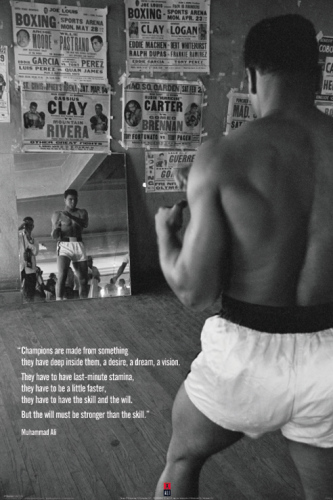 Muhammad Ali (Gym) by Maxi