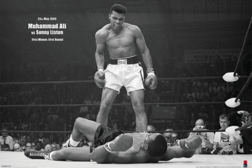 Muhammad Ali (v Liston Landscape) by Anonymous