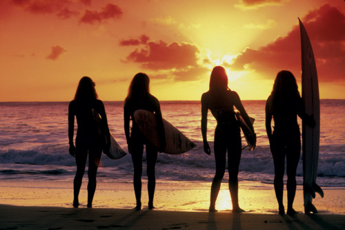 Surf Babes by Maxi