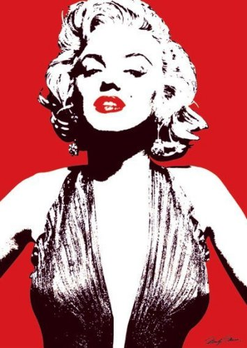 Marilyn Monroe (Red) by Celebrity Image