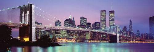 New York Skyline by Anonymous