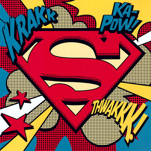 Superman (Pop Art Shield) by DC Comics