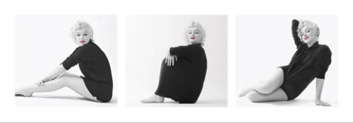 Marilyn Monroe (Sweater Triptych) by Celebrity Image