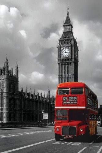London Red Bus by Maxi