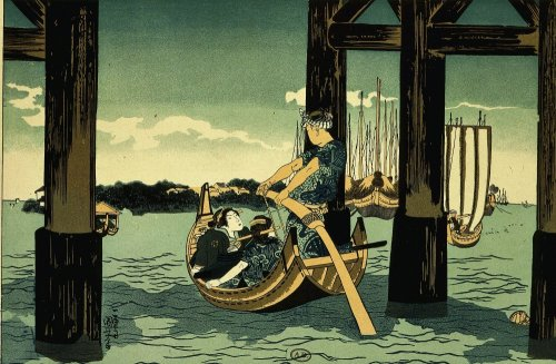 Boat ride by Utagawa Kuniyoshi
